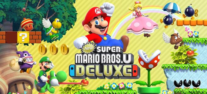 Un vistazo a lo que ofrece New Super Mario Bros. U Deluxe para Nintendo Switch