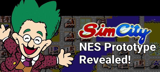 SimCity para NES regresa del pasado