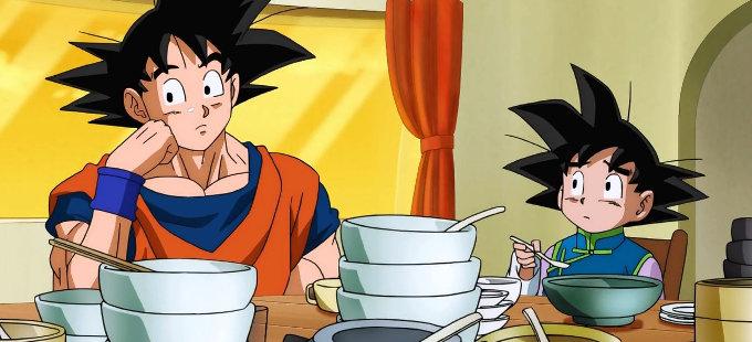 Akira Toriyama alguna vez olvidó a Goten en Dragon Ball