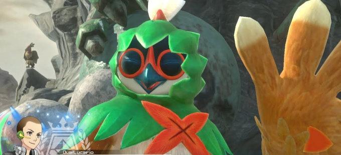 Decidueye iba a estar en Super Smash Bros. Ultimate
