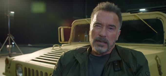 """""""Volveré"""", dice Arnold Schwarzenegger en la nueva Terminator"""
