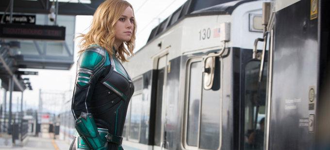 Brie Larson comparte avance de Captain Marvel