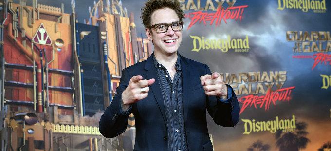 El guión de James Gunn de Guardians of the Galaxy Vol. 3 sí se usará