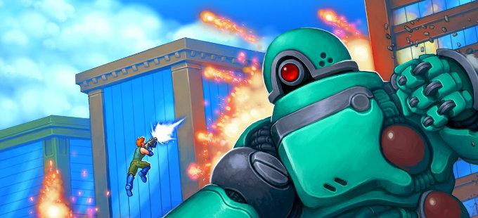 Mechstermination Force es el nuevo juego del creador de Gunman Clive