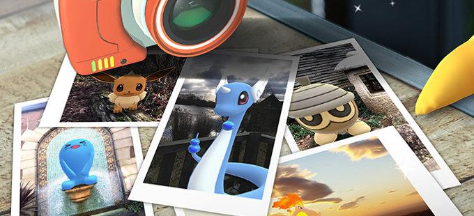 ¿Cómo funciona GO Snapshot en Pokémon GO?