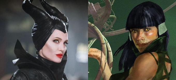 Angelina Jolie, de Maléfica a The Eternals de Marvel Studios