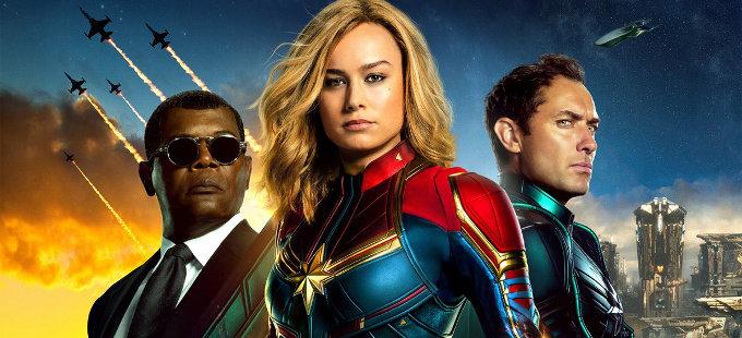 ¡Impresionanti! Capitana Marvel arrasa en cines de todo el mundo