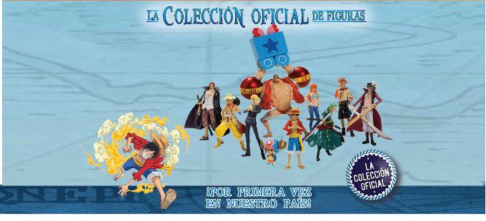 Figuras de One Piece de Salvat, ya en México