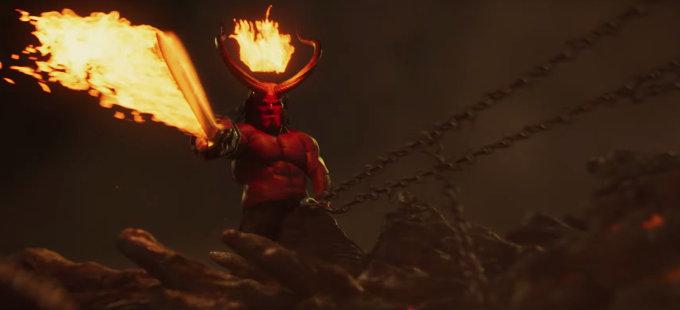 Hellboy desata el infierno con su nuevo tráiler
