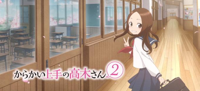 La segunda temporada de Karakai Jouzu no Takagi-san estrena avance