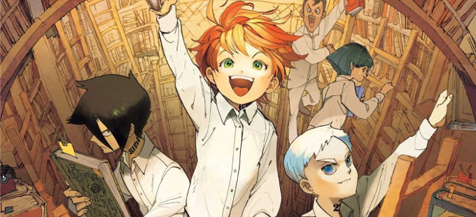 El manga de Yakusoku no Neverland llegará a México
