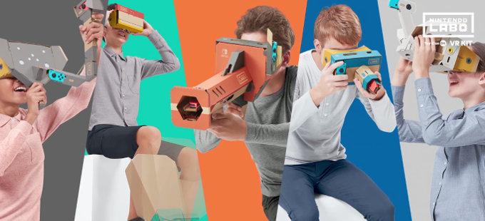 Nintendo Labo: VR Kit – ¿Cómo funciona la Realidad Virtual de Nintendo?