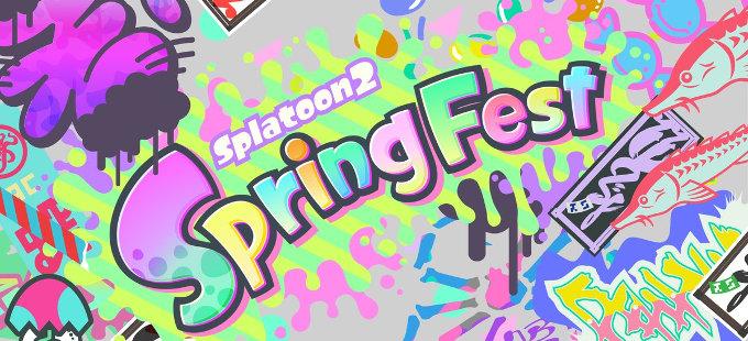 Spring Fest es el nuevo Splatfest temático de Splatoon 2