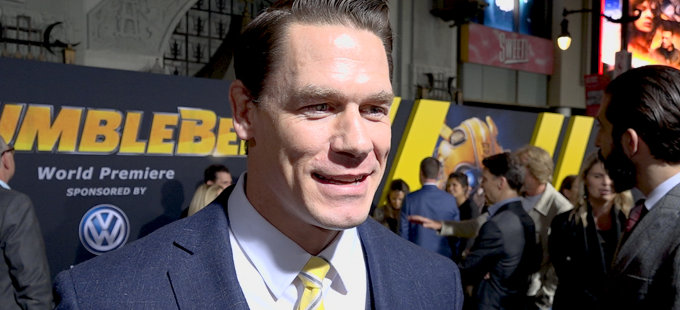 John Cena, de Bumblebee a The Suicide Squad
