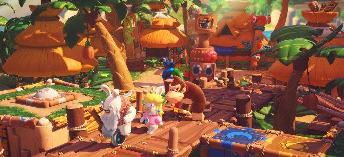 Ubisoft habla de los orígenes de Mario + Rabbids Kingdom Battle