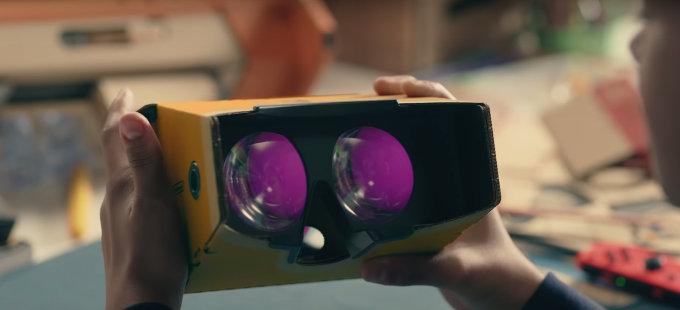 Nintendo Labo: VR Kit... ¿será compatible con más juegos de Nintendo?