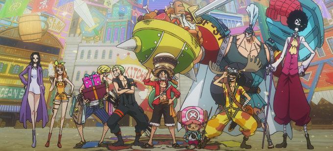 One Piece Stampede, lleno de famosos personajes