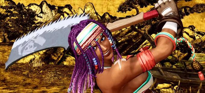 Darli Dagger vía su nuevo tráiler en Samurai Shodown para Nintendo Switch