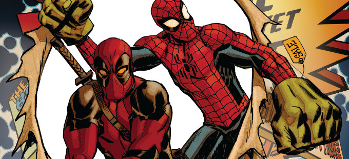 Deadpool da la bienvenida a los 4 Fantásticos a Marvel Studios