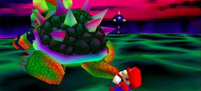 ¿Qué dice Mario cuando pelea con Bowser en Super Mario 64?