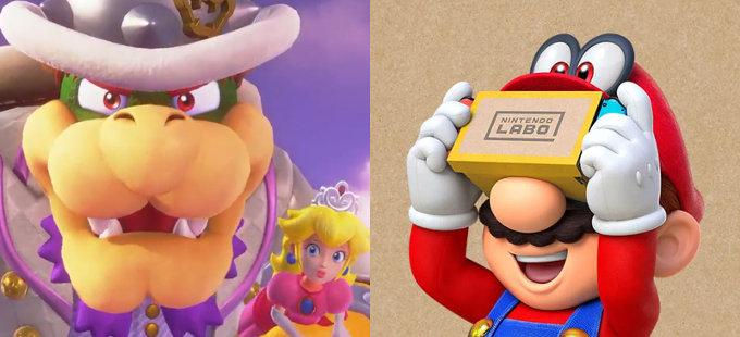 Super Mario Odyssey aprovechará más el Nintendo Labo: VR Kit