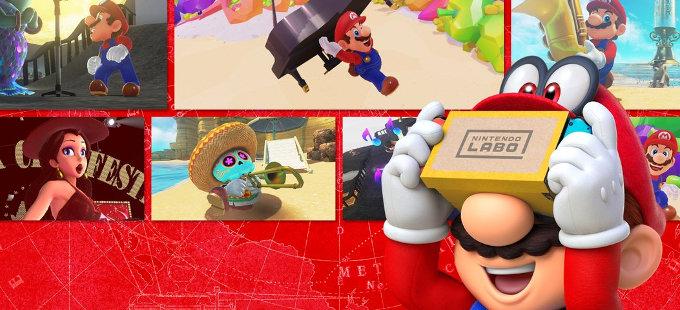 ¿Cómo son las misiones de Realidad Virtual de Super Mario Odyssey?