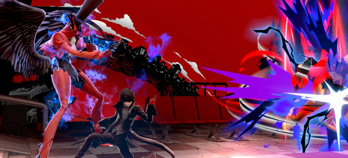 Joker de Persona 5 en Super Smash Bros. Ultimate