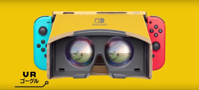 TLOZ: Breath of the Wild y Super Mario Odyssey, compatibles con Nintendo Labo: VR Kit
