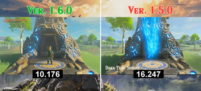 The Legend of Zelda: Breath of the Wild mejoró y quizá te diste cuenta
