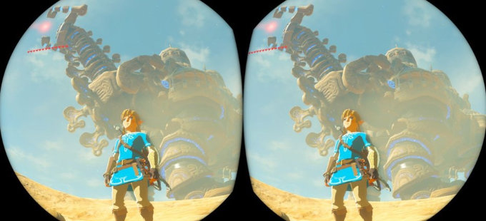 ¿Cómo funciona la Realidad Virtual de The Legend of Zelda: Breath of the Wild?