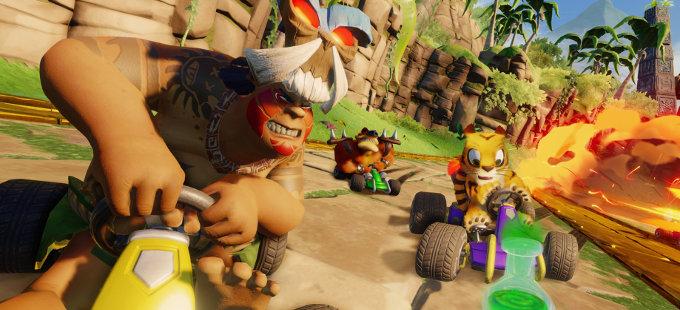 Crash Team Racing Nitro-Fueled para Nintendo Switch y su modo aventura