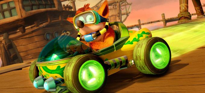 Crash Team Racing Nitro-Fueled para Nintendo Switch incluye personalización