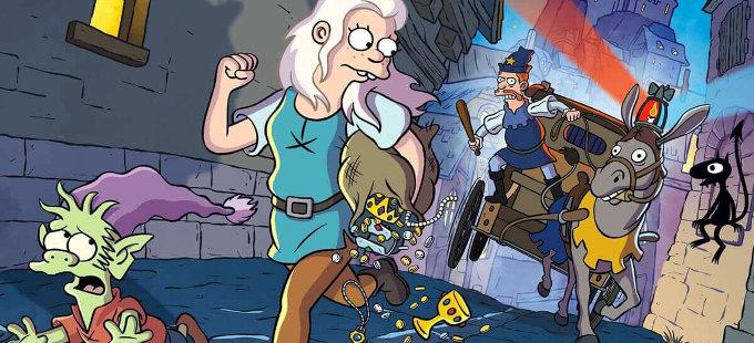 Mientras Los Simpson caen, (Des)encanto regresará a Netflix
