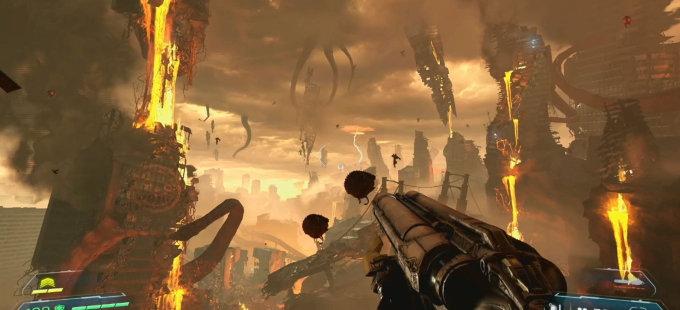 Doom Eternal para Nintendo Switch a través de un nuevo vistazo