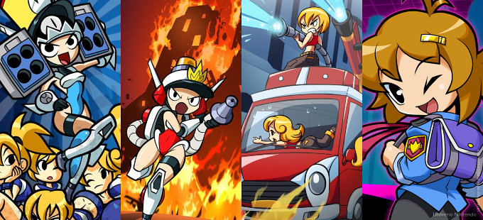 Mighty Switch Force! Collection para Nintendo Switch revelado antes de tiempo