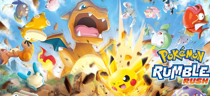 Pokémon Rumble Rush se lanza inesperadamente
