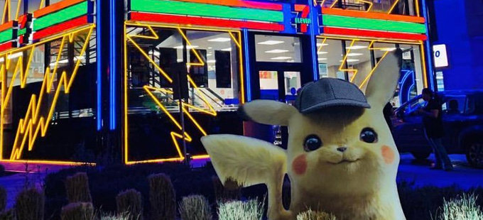 Así celebra una tienda en México a Pokémon: Detective Pikachu