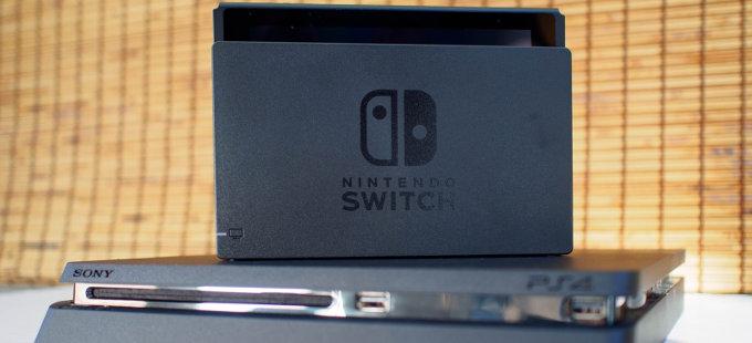 Nintendo Switch supera a PlayStation 4 en Japón