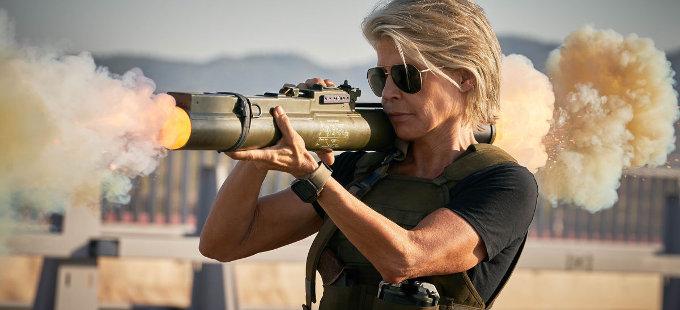 Linda Hamilton se luce en Terminator: Destino Oculto