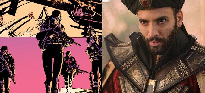 Marwan Kenzari de Aladdin se une a Charlize Theron en The Old Guard