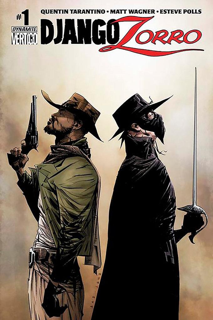 ¿Una película de Django y El Zorro de Quentin Tarantino?