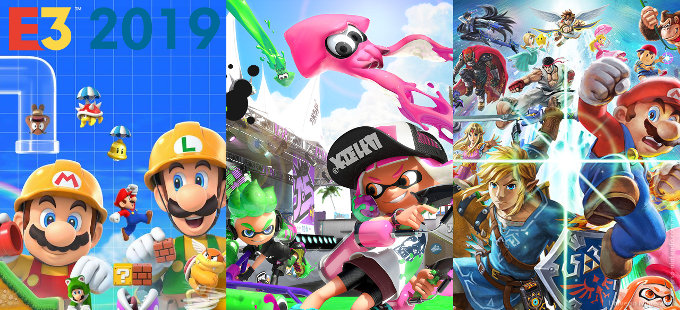 Nintendo en E3 2019: Super Mario Maker 2 y torneos de Splatoon 2 y Smash Bros.