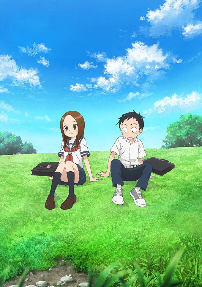 La segunda temporada de Karakai Jouzu no Takagi-san llegará en verano