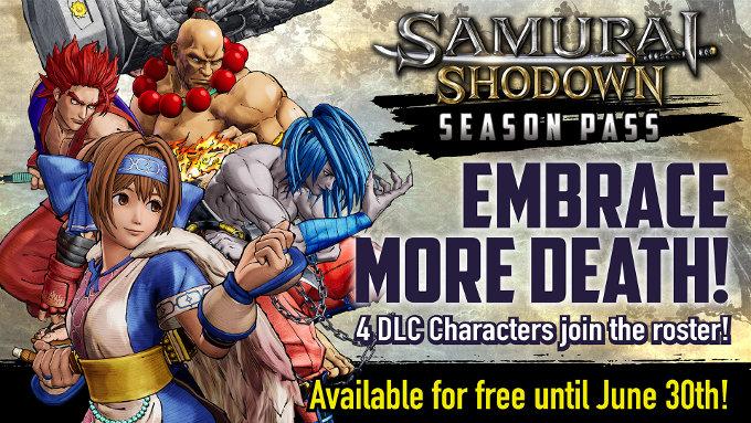 Samurai Shodown para Nintendo Switch y su DLC a futuro
