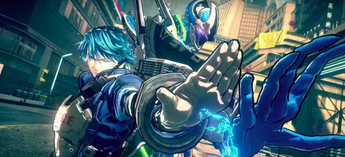 Astral Chain para Nintendo Switch, inspirado en Ghost in the Shell