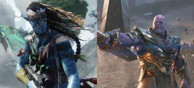 Avengers: Endgame vs. Avatar: Volverá a cines con extras