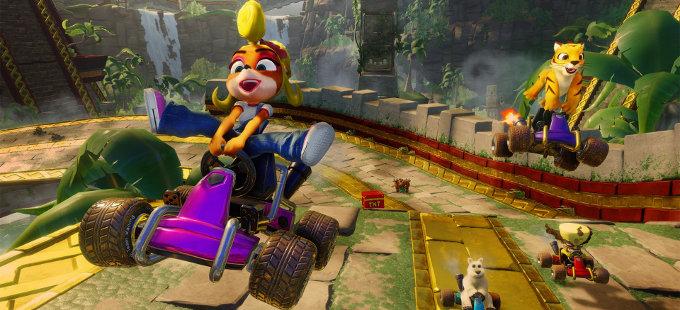 Anticipando la salida de Crash Team Racing Nitro-Fueled para Nintendo Switch