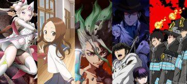 Guía de Anime de Verano 2019