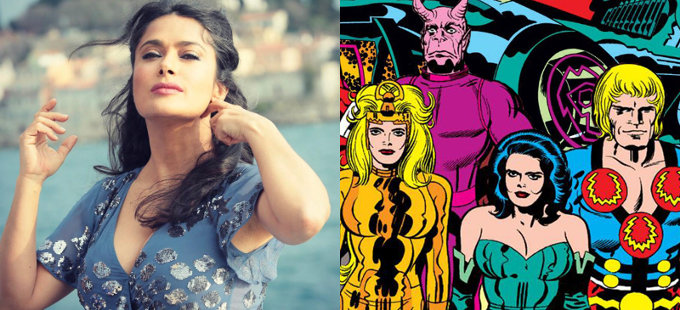 Salma Hayek podría estar en The Eternals de Marvel Studios
