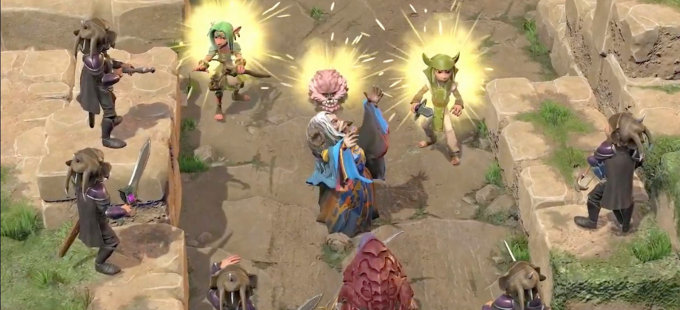 ¿Qué esperar de The Dark Crystal: Age of Resistance Tactics para Nintendo Switch?